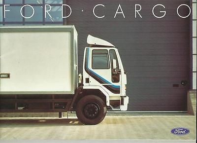 Ford Cargo Tippers, Tandems, Arctics, Trucks Lorry Sales Brochure May 1985