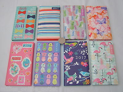 2017 Slim Pocket Diary Week To View Diaries Christmas Gift Present Gifts Xmas