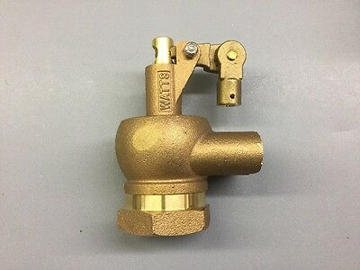 "Watts Flippen 1-1/4"" Hd Brass Float Valve"