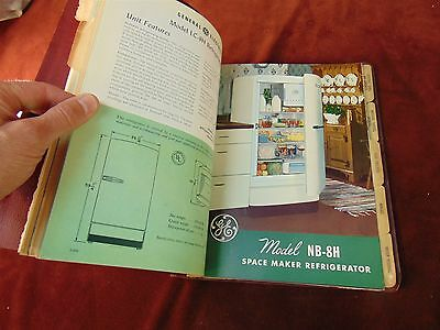 1952 GE APPLIANCE PRODUCT PROMOTION GUIDE Sales Book WASHER REFRIGERATOR ++