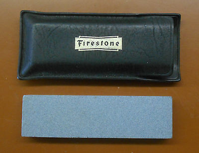 Firestone Tire Company Promotional Advertising Knife Sharpener