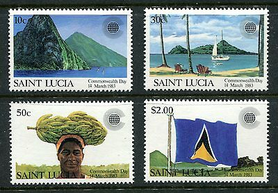 St Lucia 1983 Commonwealth Day  MNH