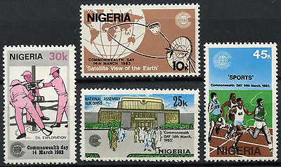 Nigeria 1983 Commonwealth Day  MNH