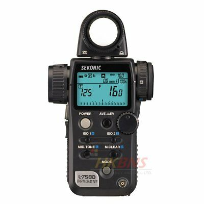 Sekonic L-758D DigitalMaster L758 D Digital Light Meter Flash Master CE Version