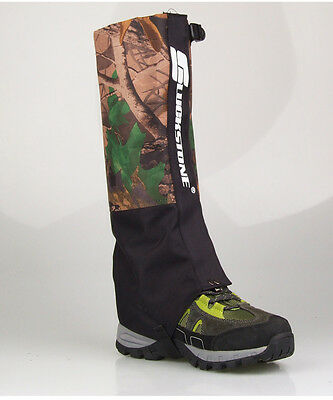 Outdoor Camouflage Waterproof Hiking Climbing Hunting Snow Legging Gaiters 1pair