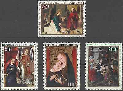 Timbres Noel Dahomey PA112/5 * (12610)