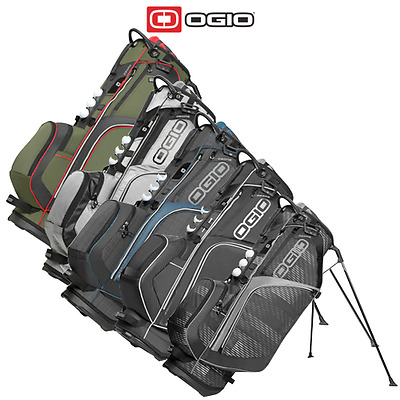 Ogio 2016 Ozone Stand Carry Golf Bag - 8 Way Divider Woode Top - 7 Pockets
