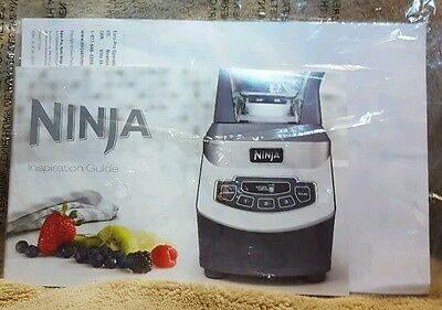 ninja inspiration guide recipe book from ninja kitchen system 1100 rh picclick com Healthy Living Guide the Ninja Healthy Living Guide the Ninja