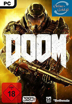 Doom Key / Doom 4 - STEAM Digital Download Code - PC Spiel Doom IV Neu [DE][EU]