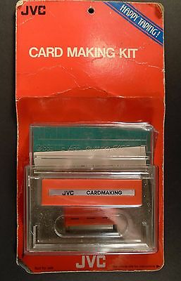 JVC Cassette Label Card Case Making Kit