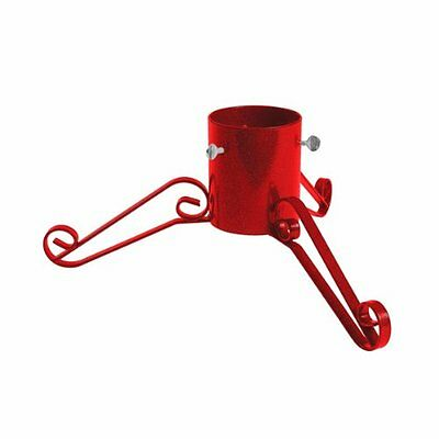 Bosmere G460 5-inch Christmas Tree Stand Sparkle Size - Red