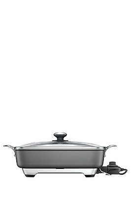 NEW Breville BEF460 ThermalPro Banquet Frypan:Grey Grey