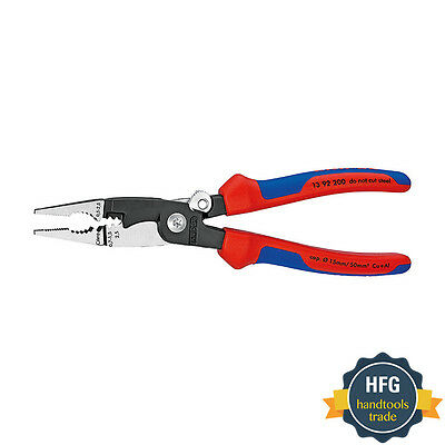 KNIPEX 13 92 200 Pliers for Electrical installation, 200 mm
