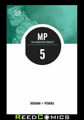 THE MANHATTAN PROJECTS VOLUME 5 THE COLD WAR GRAPHIC NOVEL New Paperback