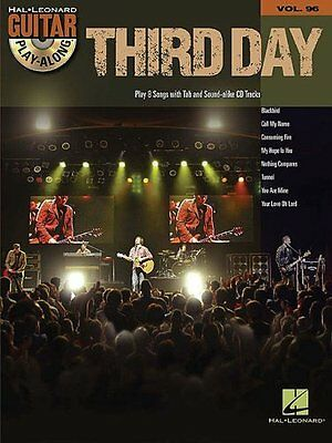 NEW Third Day Guitar Play-Along Vol. 96 BK/CD by Third Day