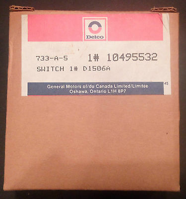 Delco Remy GM Switch 10495532 1# D1506A