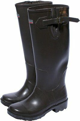 Town and Country Premium Chocolate Wellington Boots Size 7