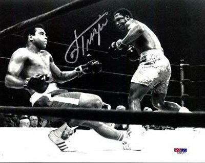 Joe Frazier Autographed Signed 8X10 Photo Vs. Ali Psa/dna Stock #22024