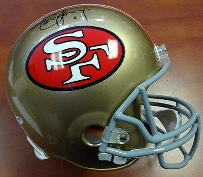 Steve Young Autographed Signed San Francisco 49Ers Full Size Helmet Psa/dna