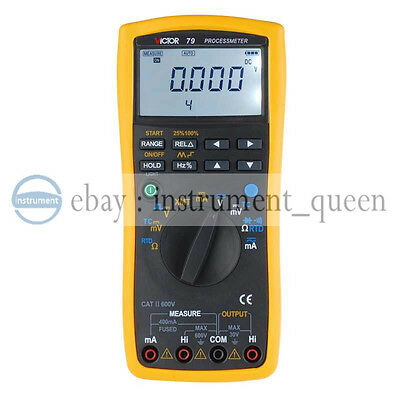 KCH79 Process multimeter / Process Calibrator Meter Multifunctional Signal Loop