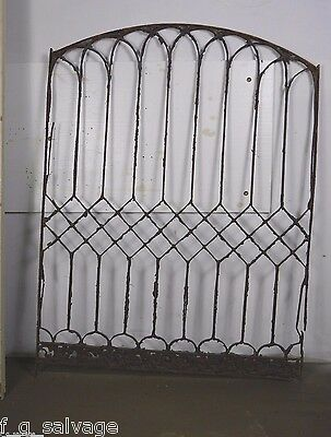 Antique Vintage Iron Window Grate Polhemus House Newark NJ 1800's Local Pickup