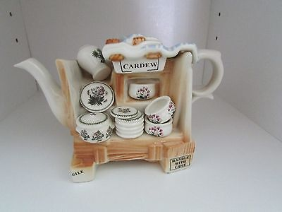 """Portmeirion Collectible 1 Cup Teapot """"china Stall"""""""
