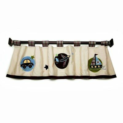 Nojo Good To Go Truck Airplane Boat Window Valance New