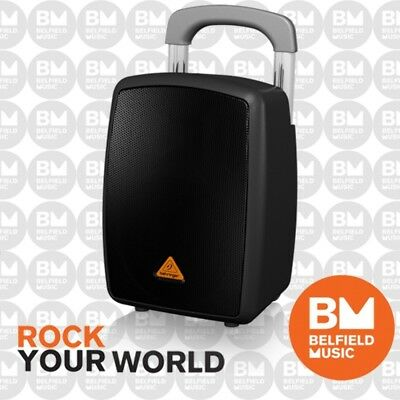Behringer EUROPORT MPA40BT Pro Portable PA System 40W w Bluetooth Battery Wheels
