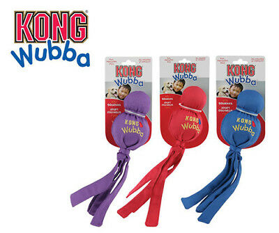 KONG Wubba Interactive Squeaking Toy For Dogs