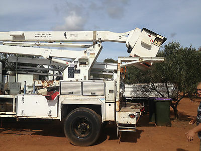 Cherry Picker Only, No Truck, Still Rolling, Needs Low Loader