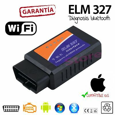 Scaner lector DIAGNOSIS ELM 327 BLUETOOTH WIFI OBD2 sin cable android IPHONE IOS