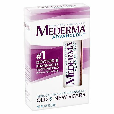 Mederma Advanced Scar Gel Cream Treatment 50g - Skin Care For Old & New Scars