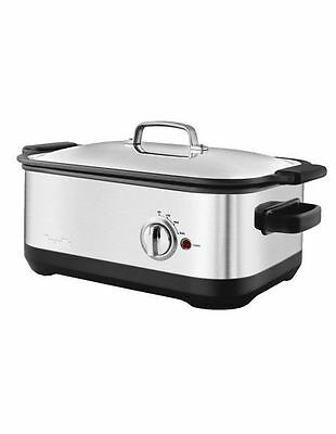 NEW Breville Ikon Slow cooker BSC560 Grey