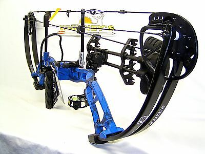 """Fred Bear Cruzer Blue Bow Left Hand Package  5-70#  12-30"""""""