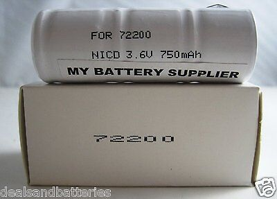 72200 NiCd Medical Battery for Otoscope Handles Replacement for Welch Allyn
