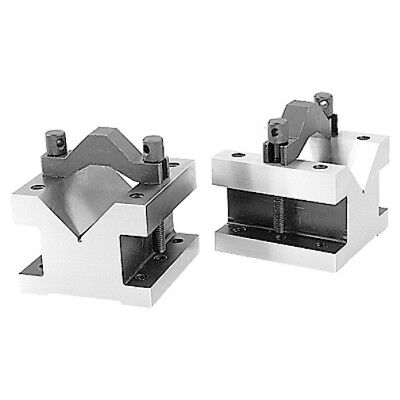 2-9/16 Capacity Precision V-Block & Clamp Set 4-1/8 X 4-1/8 X 3-1/16 (3402-0003)