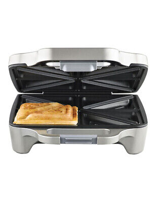 NEW Sunbeam GR6450 Big Fill Toastie for 4: Silver