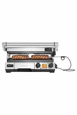 NEW Breville BGR840BSS The Smart Grill Pro: Polished Stainless Steel