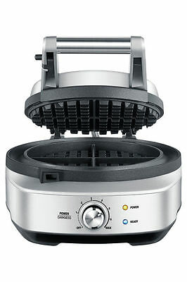 NEW Breville BWM520BSS the No Mess Waffle Maker: Stainless Steel