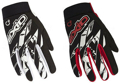 SHOT EXID 15 TRIALS GLOVES off-road mx motocross enduro bike BLACK or RED