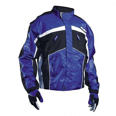 SHOT EXID 09 TRIALS JACKET BLUE off-road mx motocross enduro bike coat