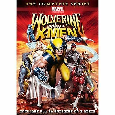 Wolverine and the X-Men: The Complete Series (DVD, 2010, 3-Disc Set) free ship!!