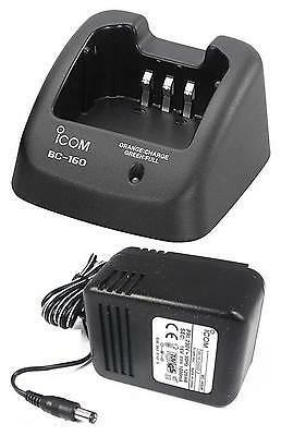 Icom Bc160 Charger For Ic-F15 F25 F25Sr F34 F44 F4029Sdr - Bp231 Bp232 Battery