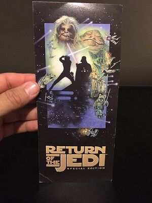 Star Wars Return Of The Jedi Special Edition 1997 Special Screening Ticket RARE