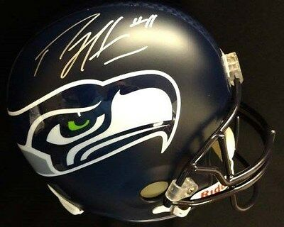 Percy Harvin Autographed Signed Seattle Seahawks Full Size Helmet Psa/dna Itp