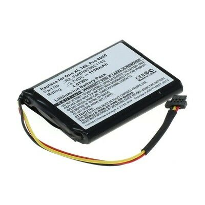 Akku für TomTom One XL Traffic  One XL 340  XXL  3,7V  1100mAh  Li-Ion