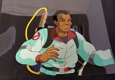 The Real Ghostbusters Cartoon Original Hand Painted Animation Cell