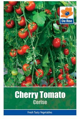De Ree Cherry Tomato Cerise - Vegetable Seeds Pack of 100