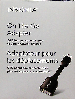 Insignia On The Go Adapter Micro Usb Adapter (0.6M) - Ns-Motgd-C