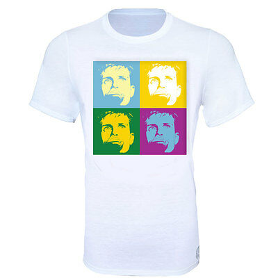 Ian Curtis Joy Division Andy Warhol Style T-Shirt - Kids & Adult Sizes
